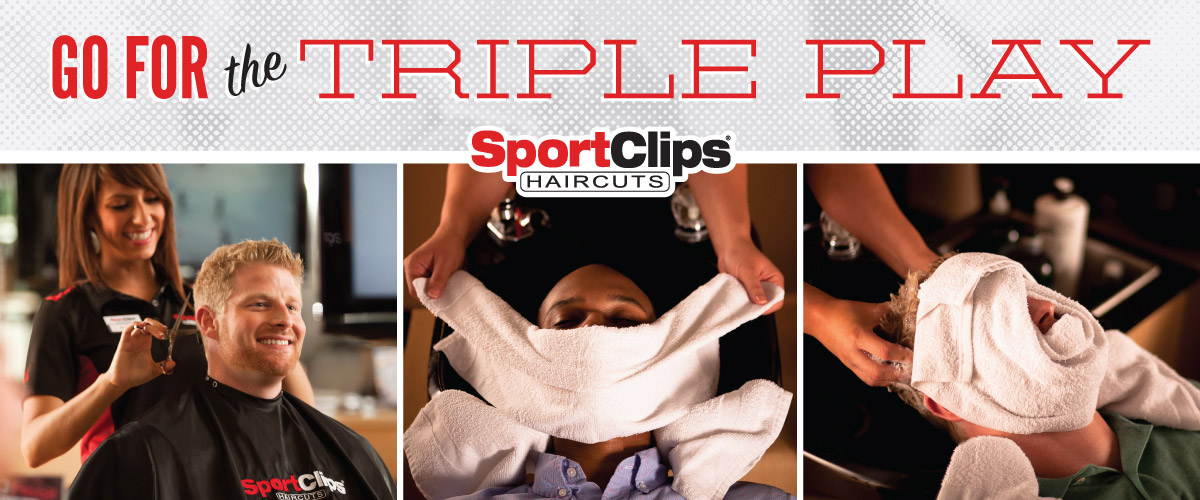 The Sport Clips Haircuts of Bethel Park Triple Play